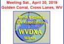 WVDXA Meeting